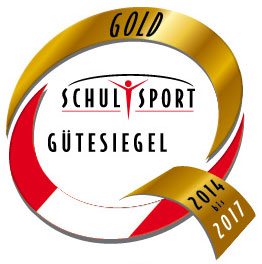 Schulsport Gütesiegel in Gold